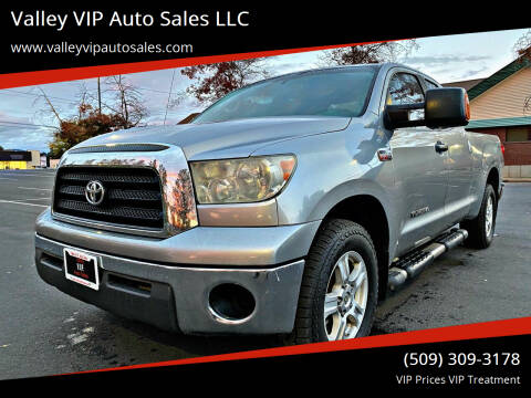2007 Toyota Tundra for sale at Valley VIP Auto Sales LLC in Spokane Valley WA