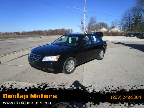 2009 Hyundai Sonata for sale at Dunlap Motors in Dunlap IL