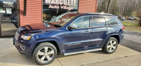2014 Jeep Grand Cherokee for sale at Marcotte & Sons Auto Village in North Ferrisburgh VT