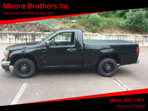 2007 Chevrolet Colorado for sale at Moore Brothers Inc in Portland CT