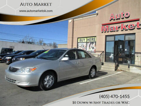2004 Toyota Camry for sale at Auto Market in Oklahoma City OK