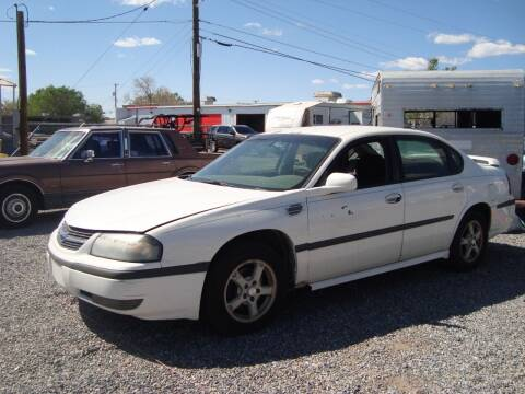 2003 Chevrolet Impala for sale at One Community Auto LLC in Albuquerque NM
