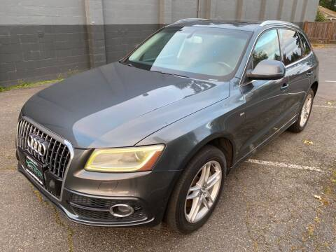 2013 Audi Q5 for sale at APX Auto Brokers in Lynnwood WA