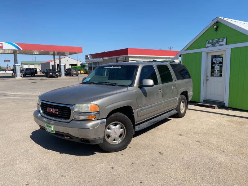 2000 GMC Yukon XL for sale at Independent Auto in Belle Fourche SD