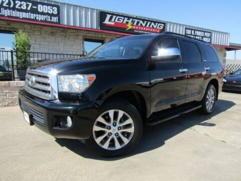 2017 Toyota Sequoia for sale at Lightning Motorsports in Grand Prairie TX