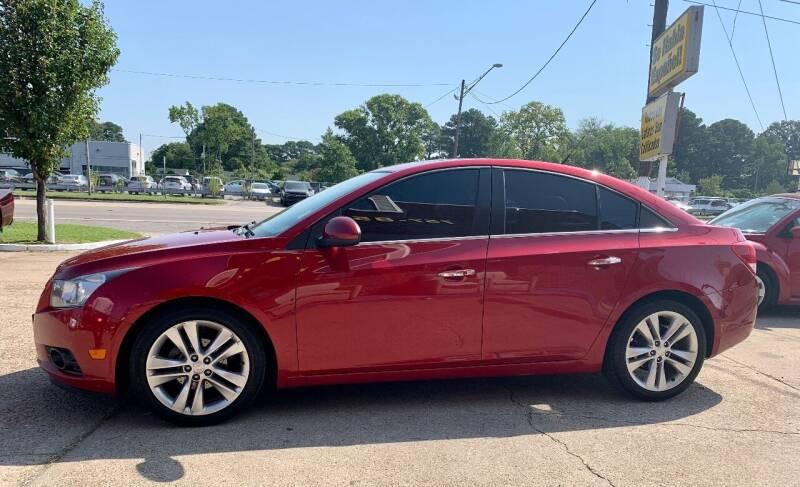 2012 Chevrolet Cruze for sale at Steve's Auto Sales in Norfolk VA