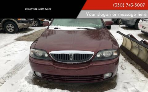 2004 Lincoln LS for sale at Six Brothers Auto Sales in Youngstown OH