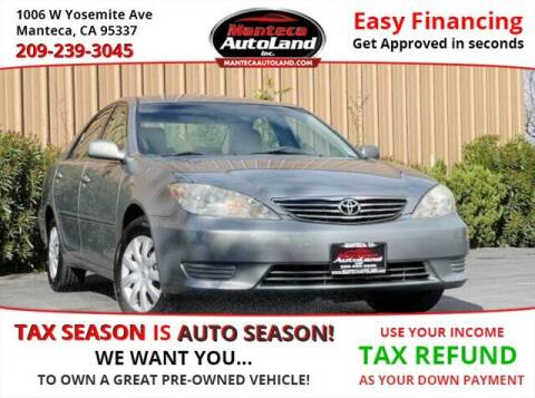 2005 Toyota Camry for sale at Manteca Auto Land in Manteca CA