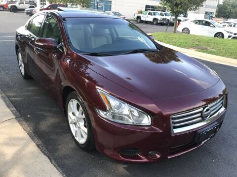 2013 Nissan Maxima for sale at Dotcom Auto in Chantilly VA