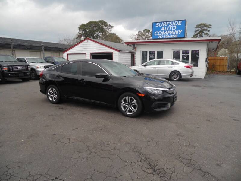 2017 Honda Civic for sale at Surfside Auto Company in Norfolk VA
