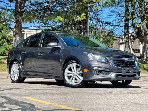 2015 Chevrolet Cruze for sale at Used Cars and Trucks For Less in Millcreek UT
