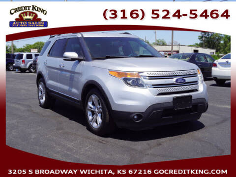 2015 Ford Explorer for sale at Credit King Auto Sales in Wichita KS