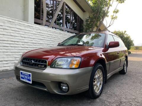 2003 Subaru Outback for sale at Santa Barbara Auto Connection in Goleta CA