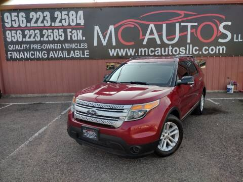 2014 Ford Explorer for sale at MC Autos LLC in Pharr TX