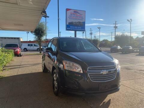 2015 Chevrolet Trax for sale at Magic Auto Sales in Dallas TX