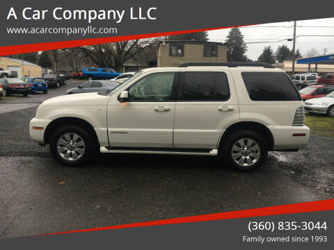 2008 Mercury Mountaineer for sale at A Car Company LLC in Washougal WA