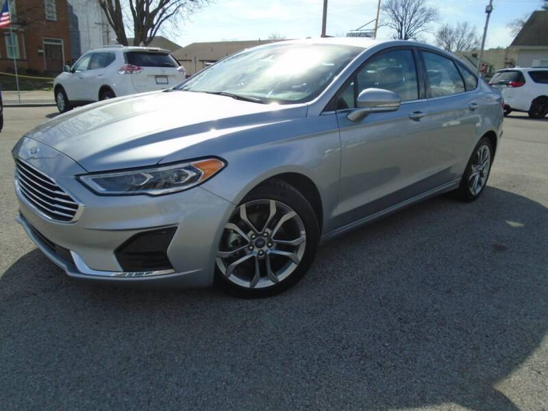 2020 Ford Fusion for sale at Total Eclipse Auto Sales & Service in Red Bud IL