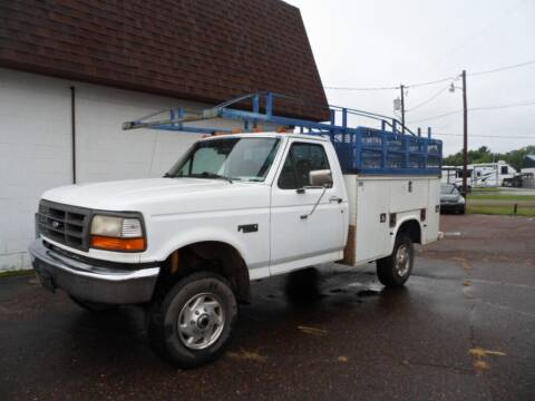 1997 Ford F-350 for sale at Paul Oman's Westside Auto Sales in Chippewa Falls WI