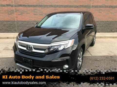 2019 Honda Pilot for sale at KI Auto Body and Sales in Lino Lakes MN