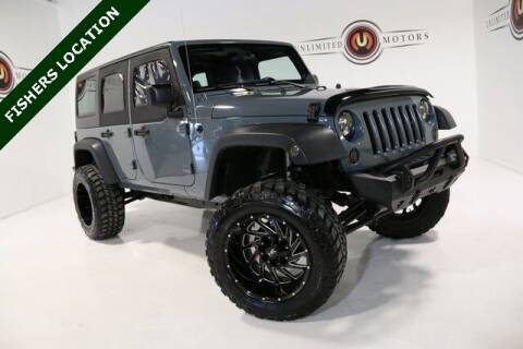 2014 Jeep Wrangler Unlimited for sale at Unlimited Motors in Fishers IN