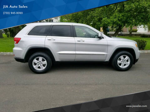 2012 Jeep Grand Cherokee for sale at JIA Auto Sales in Port Monmouth NJ