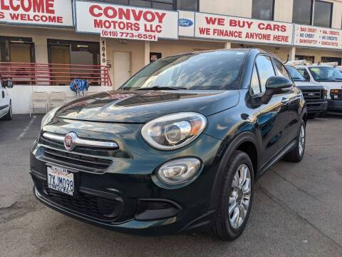 2016 FIAT 500X for sale at Convoy Motors LLC in National City CA