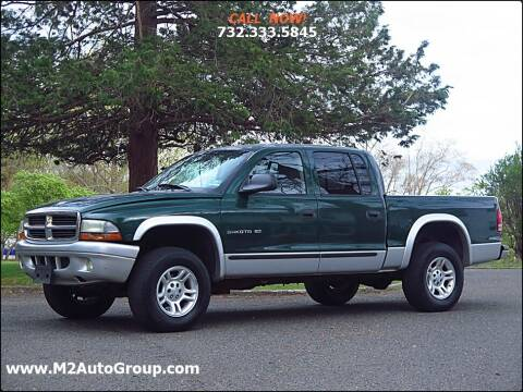 2002 Dodge Dakota for sale at M2 Auto Group Llc. EAST BRUNSWICK in East Brunswick NJ
