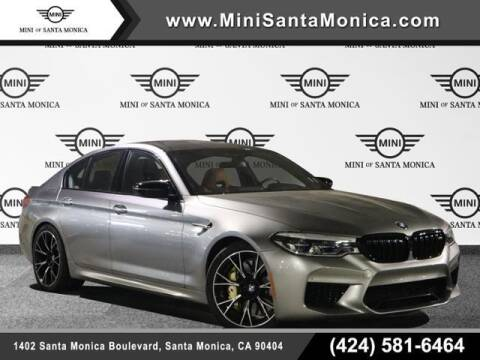 2019 BMW M5 for sale at MINI OF SANTA MONICA in Santa Monica CA
