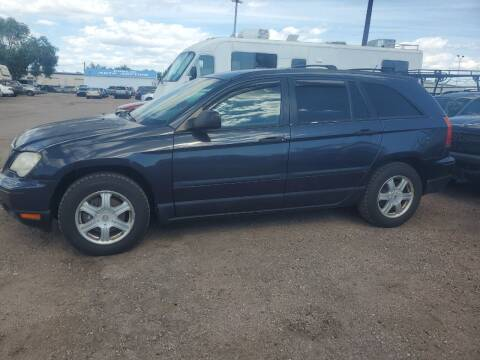 2007 Chrysler Pacifica for sale at PYRAMID MOTORS - Fountain Lot in Fountain CO