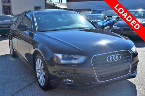 2015 Audi A4 for sale at LAKESIDE MOTORS, INC. in Sachse TX