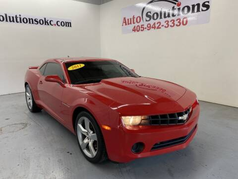 2011 Chevrolet Camaro for sale at Auto Solutions in Warr Acres OK
