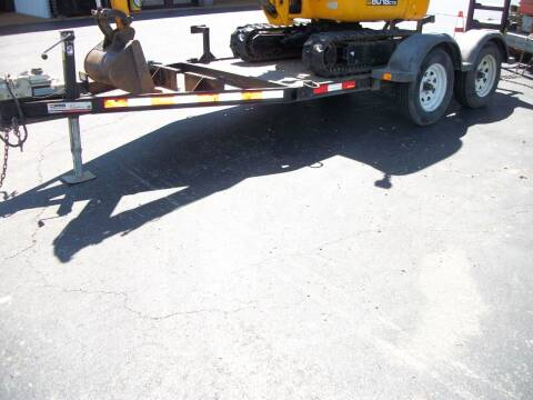 2015 MMDI Equipment Trailer for sale at Classics Truck and Equipment Sales in Cadiz KY