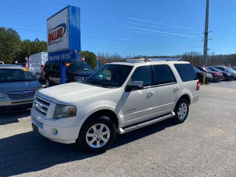2008 Ford Expedition for sale at Billy Ballew Motorsports in Dawsonville GA
