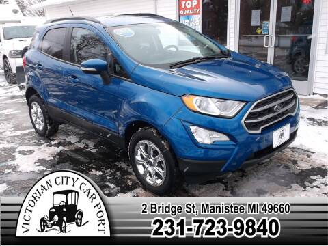 2018 Ford EcoSport for sale at Victorian City Car Port INC in Manistee MI