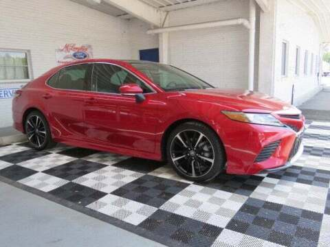 2019 Toyota Camry for sale at McLaughlin Ford in Sumter SC