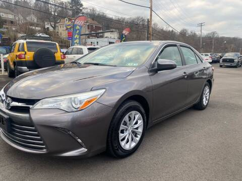 2015 Toyota Camry for sale at Ultra 1 Motors in Pittsburgh PA