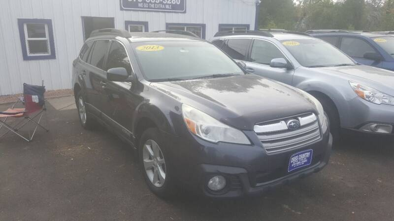 2013 Subaru Outback for sale at Cross Country Motors in Loveland CO