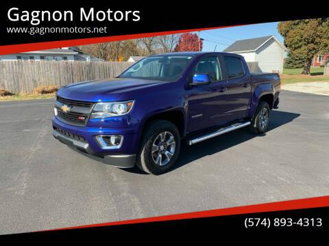 2017 Chevrolet Colorado for sale at Gagnon  Motors - Gagnon Motors in Akron IN