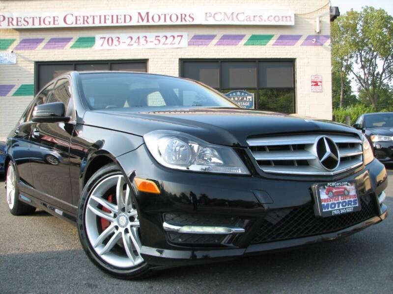 2013 Mercedes-Benz C-Class for sale at Prestige Certified Motors in Falls Church VA
