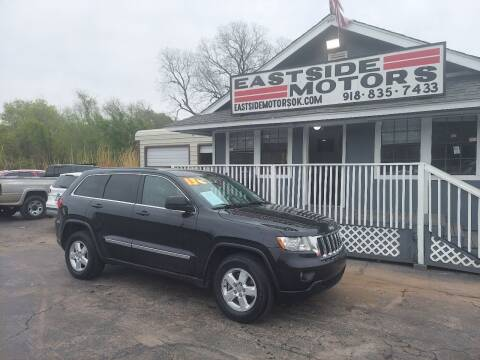 2013 Jeep Grand Cherokee for sale at EASTSIDE MOTORS in Tulsa OK