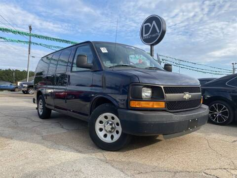 2012 Chevrolet Express Passenger for sale at Direct Auto in D'Iberville MS