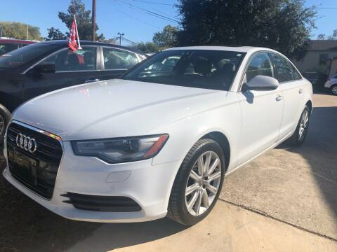 2013 Audi A6 for sale at S & J Auto Group in San Antonio TX