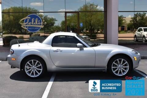 2007 Mazda MX-5 Miata for sale at GOLDIES MOTORS in Phoenix AZ