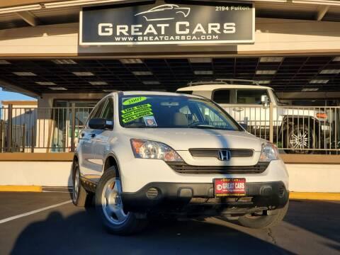 2007 Honda CR-V for sale at Great Cars in Sacramento CA
