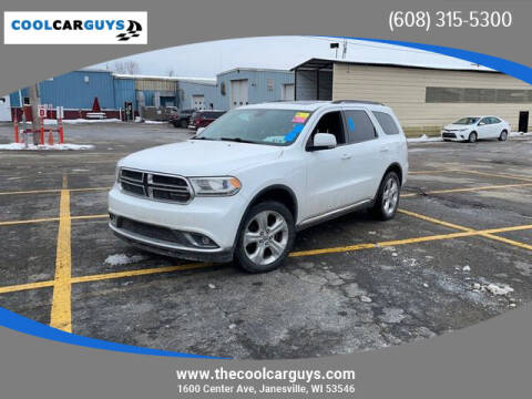 2015 Dodge Durango for sale at Cool Car Guys in Janesville WI