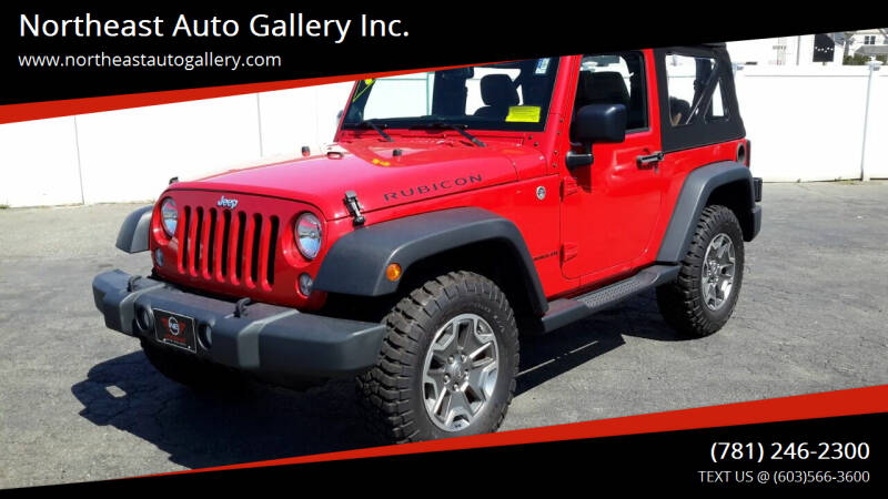 2014 Jeep Wrangler for sale at Northeast Auto Gallery Inc. in Wakefield Ma MA