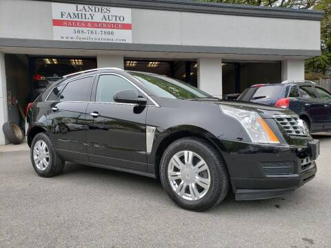 2011 Cadillac SRX for sale at Landes Family Auto Sales in Attleboro MA