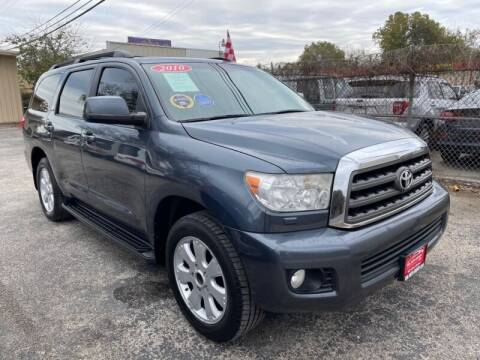 2010 Toyota Sequoia for sale at GOL Auto Group in Austin TX
