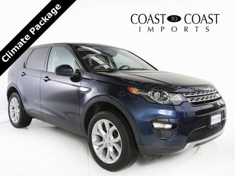 2017 Land Rover Discovery Sport for sale at Coast to Coast Imports in Fishers IN