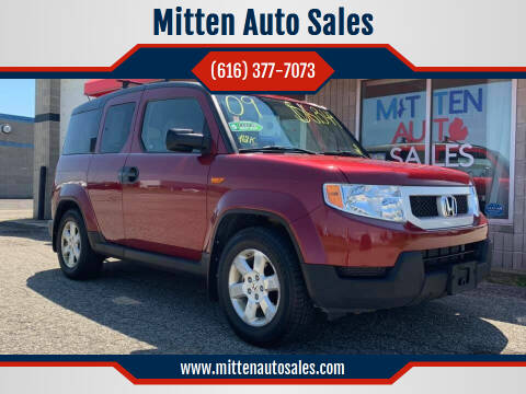 2009 Honda Element for sale at Mitten Auto Sales in Holland MI